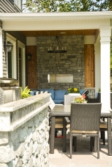 <p>Stone barbecue and fireplace design and build in Oakville.  Valor fireplace and custom design.</p>