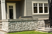 <p>Stone barbecue design and build in Oakville.  Valor fireplace and custom design.</p>